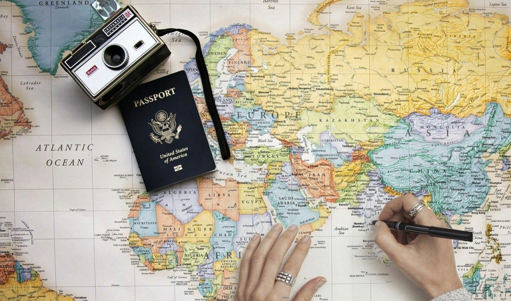 map, travel, travel map
